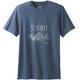 Prana Keystone t-shirt Heren blauw